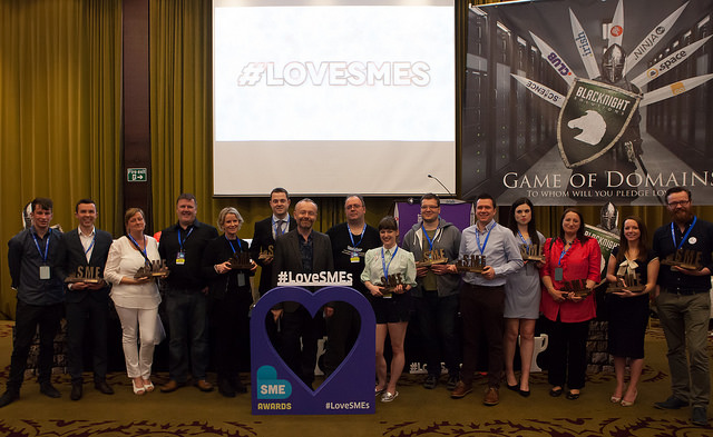 2015 Blacknight SME Awards Winners
